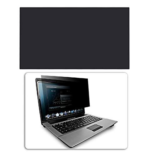JohnJohnsen Professionelle 12-Zoll-Blickschutzfilter Anti-Spion Bildschirme Schutzfolie 276.72mmx155.65mm Anti Peeping für 16: 9 Laptop (schwarz)
