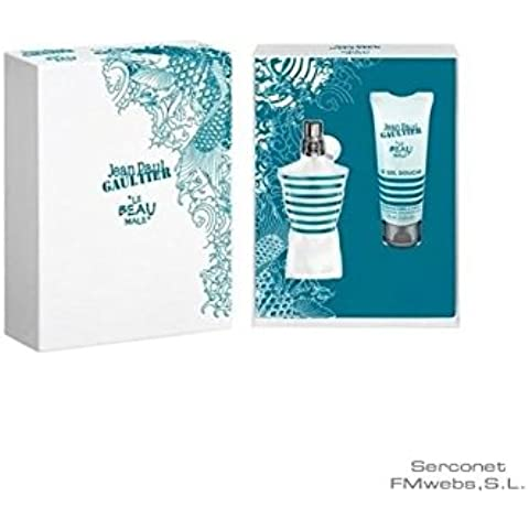 Jean paul gaultier le beau male 75 ml vaporizador+ gel75ml
