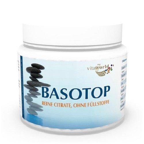 Vita World Basotop Alcalinizzante minerale Polvere puro Citrato 300g Made