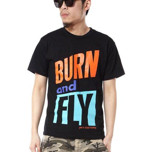 Pizoff Unisex Hip Hop Kurz Schwarz T Shirt mit Ziffer Druckmuster Metall Stern Y0374-black