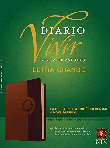 Biblia de Estudio del Diario Vivir Ntv, Letra Grande, Tutone (Ntv Estudio Biblia De)