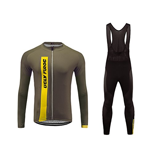 Uglyfrog #03 bike wear vestiti ciclismo magliette jersey+long bib pantaloni tight sets uomo mountain bike manica corta camicia top