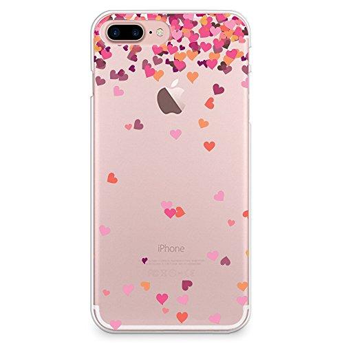 iPhone 7custodia, Casesbylorraine carino modello custodia rigida in plastica per Apple iPhone 7, I33, iPhone 7 Plus Hard Case A17