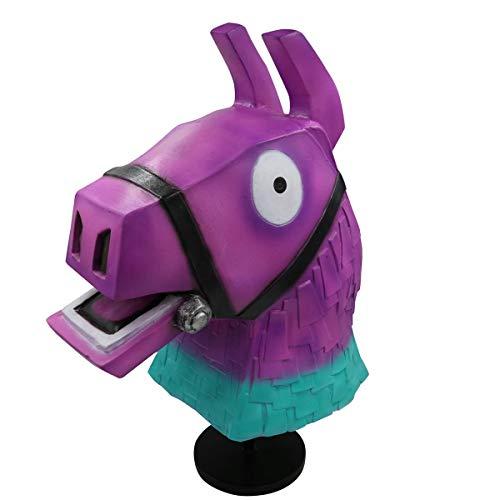 hcoser - Máscara de Cabeza de Caballo, diseño de arcoíris, Color Mo