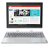 "Lenovo Miix 320 Ordinateur 2-en-1 détachable  10"" Argent Platine (Intel Atom, 4 Go de RAM, SSD 64 Go, Windows 10 Home)"