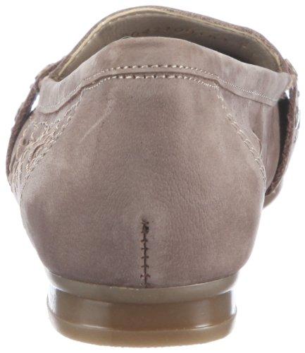 Rieker 40076/14, Chaussures de ville femme Beige-TR-A-4-142