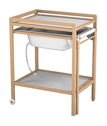 Etagere Melamine Hetre - Ateliers T4 Table à Langer à Roulettes