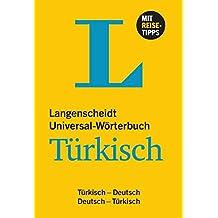 Langenscheidt Universal-Wörterbuch Türkisch: Türkisch-Deutsch/Deutsch-Türkisch (Langenscheidt Universal-Wörterbücher)