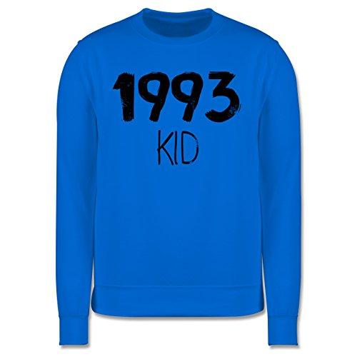 Geburtstag - 1993 KID - Herren Premium Pullover Himmelblau