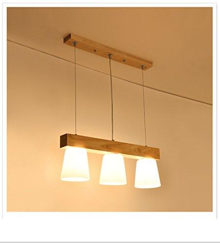 Action Esstischlampe Pendellampe Holz Esstisch Hangeleuchte Glas