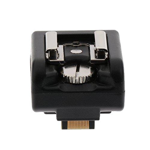 MagiDeal Blitzschuh Adapter PC Sync Hot Shoe Kanal: 16 Kanäle für Sony NEX Kameras & Universal drahtlos Triggersystem (Hot-shoe-sync-adapter)