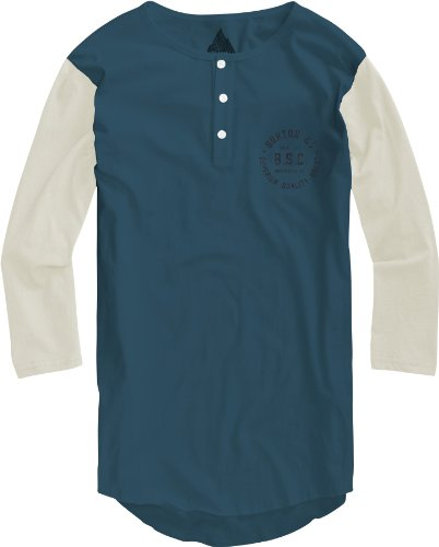 Burton Jungen T-Shirt Boys Bar League, Cerulean, L, 12391100441 (Bar Long Sleeve T-shirt)