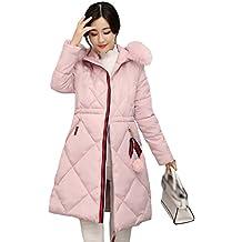 Mujer Abrigo Rosa Amazon es Acolchado ASxt6