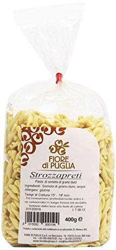 Fiore Di Puglia - Strozzapreti, Pasta Di Semola Di Grano Duro - 400 G