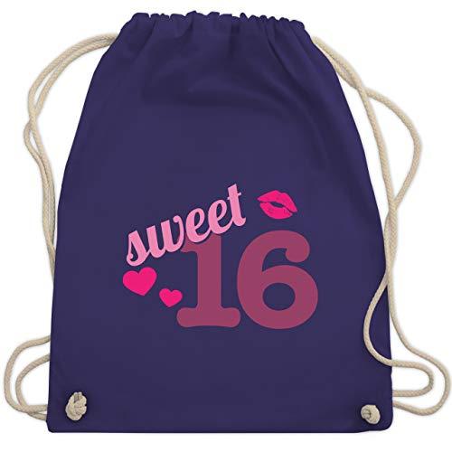 6 - Unisize - Lila - WM110 - Turnbeutel & Gym Bag ()