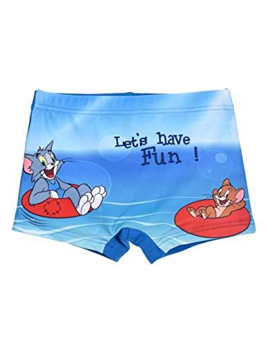 Copripiumino Tom E Jerry.Tom Et Jerry Boxer De Bain Bebe Enfant Garcon Bleu De 12 A 36mois Bleu 3 Ans
