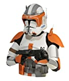 Diamond Select Toys Star Wars: The Clone Wars: Commander Cody Bust Bank by Diamond Select Toys (English Manual)