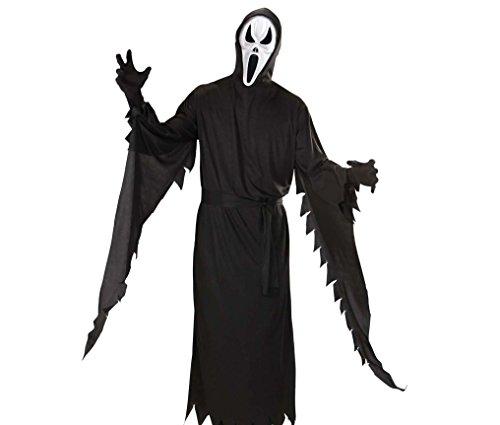 Imagen de widmann 599386031  disfraz de fantasma scream adulto talla s