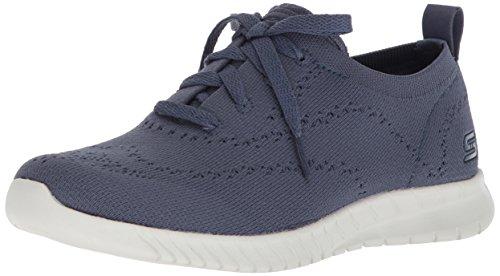 Skechers Damen Wave-Lite-Pretty Philosophy Sneaker Grau (Slate)