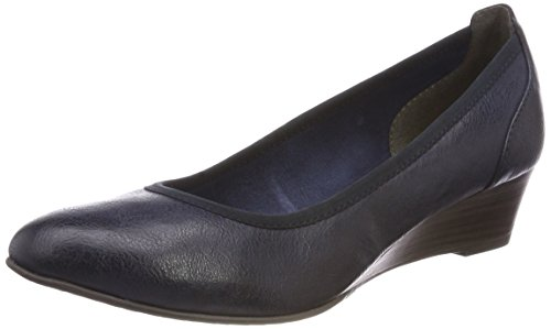 Tamaris Damen 22304 Pumps, Blau (Navy), 40 EU