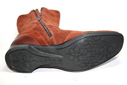NAOT - MAGNA, Damen Schuhe Stiefeletten, Leder, Schwarz Rust Cordovan Komb.