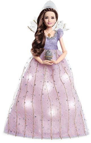 Barbie FRN75 - Signature Disney Der Nussknacker und die vier Reiche Claras Lichterglanz-Kleid Puppe - Sammler-puppen Disney