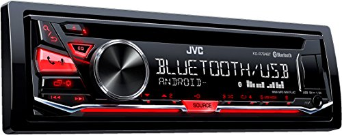 JVC KD-R784BT USB/CD-Receiver mit Bluetooth inklusiv A2DP schwarz