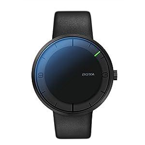 BOTTA Design NOVA Plus Herren-Einzeigeruhr Analog Automatik mit Lederarmband 850000