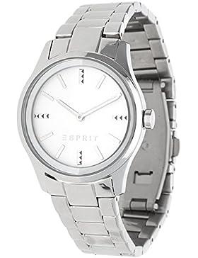 Esprit Damen-Armbanduhr silver Analog Quarz Edelstahl ES108842001