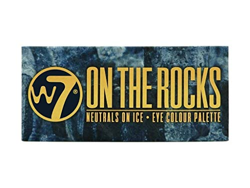 W7 On The Rocks Naturals On Ice Lidschatten-Farbpalette, 11,2 g, 14-teilig