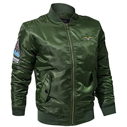 Kanpola Herren Winterjacke Jacke Stehkragen Wärmejacke Wintermantel Bomberjacke Wärmejacke Übergangsjacke Warm Coat Mantel Jacken