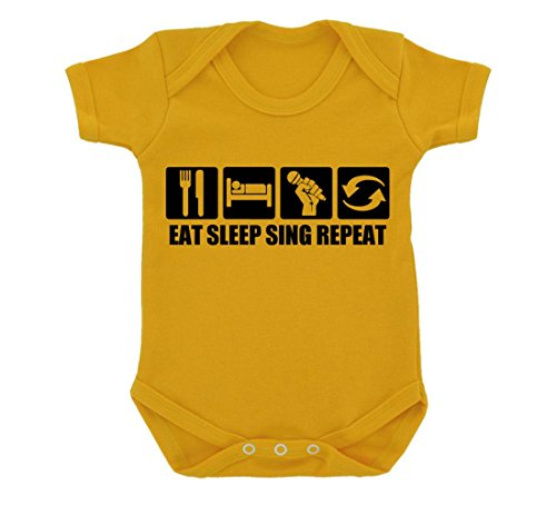 funny-eat-sleep-sing-repeat-design-baby-bodysuit-sunflower-yellow-with-black-print
