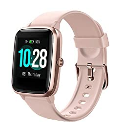 TOOBUR Smartwatch, Fitness Armband 1,3 Zoll Touch Screen Fitness Uhr, IP68 Wasserdicht Fitness Tracker Sportuhr mit Pulsuhren Schrittzähler Schlafmonitor Stoppuhr Smart Watch für Damen Herren