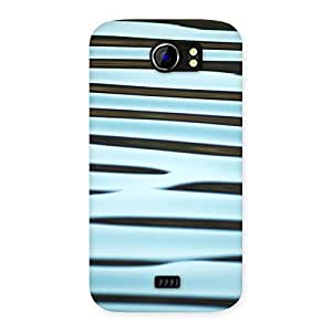 Neo World Radiant Stripes Back Case Cover for Micromax Canvas 2 A110