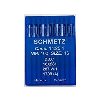 A 10aghi per macchina da cucire industriale schmetz dbx11738 16X 231spessore 90/14pistone Rotondo La spola®