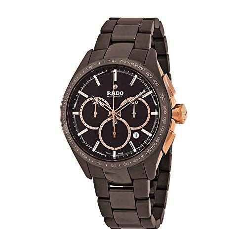 Rado Hyperchrome Limited Edition cronografo automatico Brown quadrante mens orologio XXL R32175302