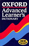 Oxford Advanced Learners Dictionary by Albert Sidney Hornby (1995-06-30)