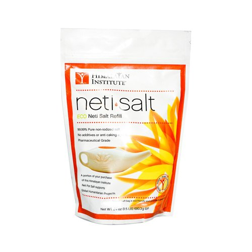 HIMALAYAN INSTITUTE PRESS NETI POT SALT,BAG, 1.5 LB, EA-1