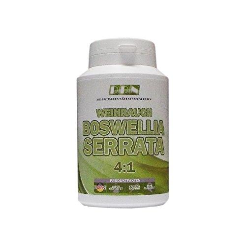 Weihrauch Kapseln hochdosiert 450mg - 150 Kapseln (vegetarisch), Boswellia serrata, 100 % indischer Weihrauch,  Boswelliasäure 80%