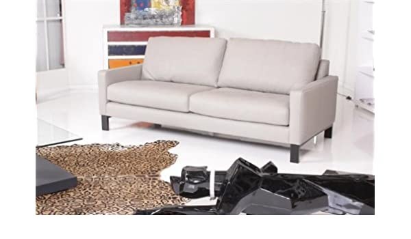 Machalke System Plus 3er Sofa - Leder Planet - grau ...