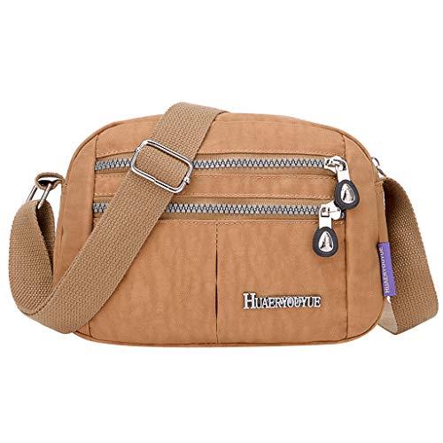 Linkay Damen Tasche, Handtasche Neuer HeißEr Verkauf Wild Nylon UmhäNgetasche Wasserdicht Elegant Tägliche Einkaufstasche Rucksack Mode 2019-Blau