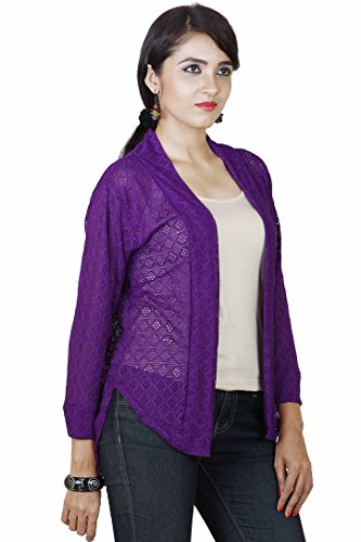 Dhanvarsha Fashion Women's Cotton SHRUG  available at amazon for Rs.270