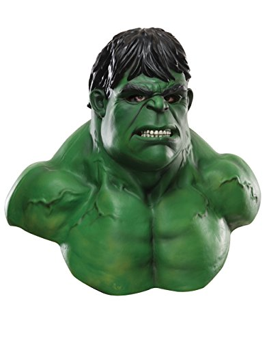 Hulk Deluxe maschera in lattice, da uomo Marvel Comics costume accessori