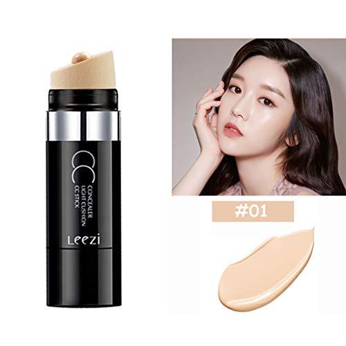 Porlous 2019New 2 Couleurs Palette Correcteur Visage Crème Contour Palette Apprêt Stick Correcteur