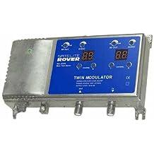 Modulador UHF - VHF (21 - 69) 2 canales simultaneos