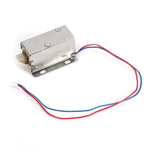 Elektroschloss DC 12V Kleine Größe Elektromagnet Elektrischen Schaltschrank Schubladenschloss -