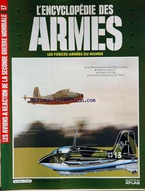 ENCYCLOPEDIE DES ARMES [No 17] du 31/12/...