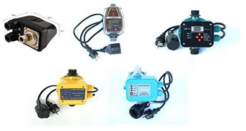 CHM Pumpensteuerungen in verschiedenen Ausführungen mit Trockenlaufschutz. Schaltleistung bis 2,2 kW. Geeignet für Gartenpumpen, Tiefbrunnenpumpen, Hauswasserwerke usw. (Druckschalter schwarz)