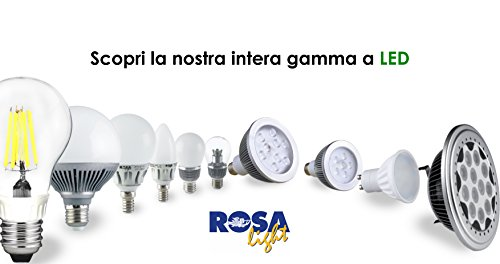 Lampade Mini Globo a LED 03 Pezzi 6W/E14 - ALTA EFFICIENZA LUMINOSA (Luce Calda) Luce Calda