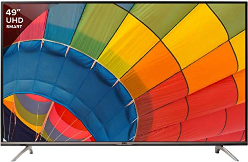 BPL 123 cm (49 inches) 4K Ultra HD Smart LED TV BPL123E36S4C (Black)